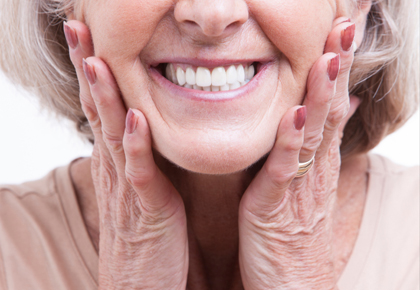 Tooth Extractions Tucson - Senior Woman with Smile