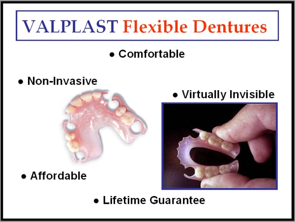 Images of Valplast Partial Dentures